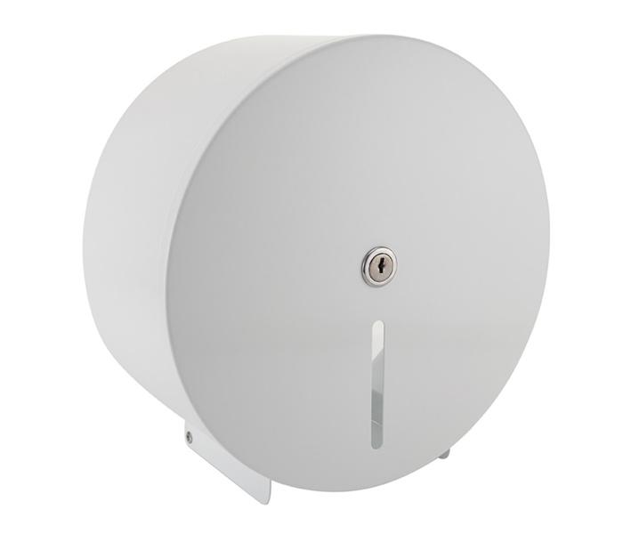 White metal dispenser