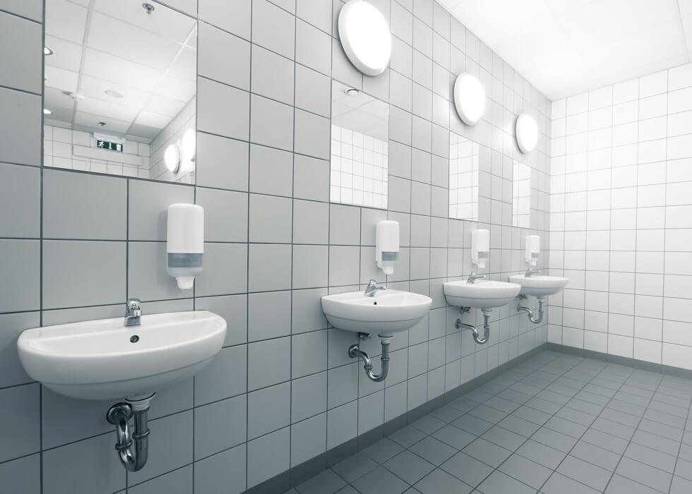hygienic bathroom
